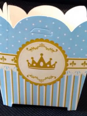Cachepot Coroa Azul Realeza (01 un)