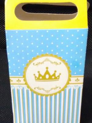 Caixa Surpresa Coroa Azul Realeza (08 unid.)
