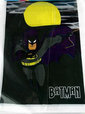 Sacola Plastica Batman (10 unidades)
