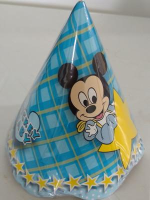 Chapeu Aniversario Mickey Baby (08 unid.)