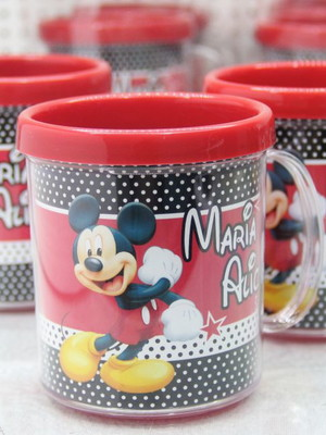 Caneca de Acrílico Mickey