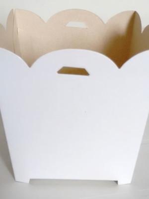 Cachepot Liso Branca (01 un)