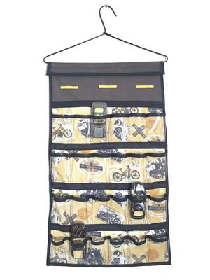 Organizador porta carrinhos de cabide *