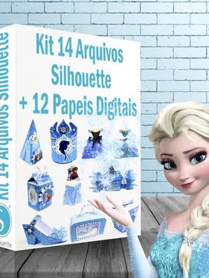 Arquivos silhouette Festa Frozen