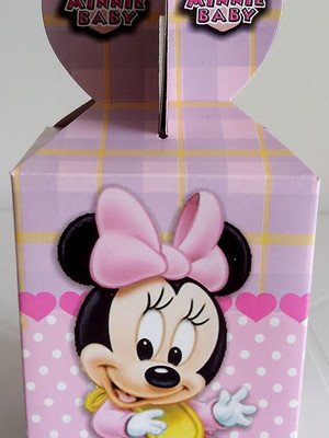 Caixa Fest Surpresa Minnie Baby (01 unid.)