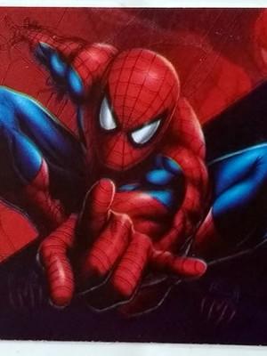 Adesivo Retangular Homem Aranha (08 unid.)
