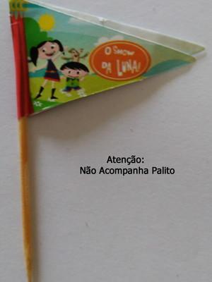 Topper Tag Bandeirinha Show d Luna (30 unid.)