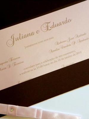 Convite de Casamento - cód A23