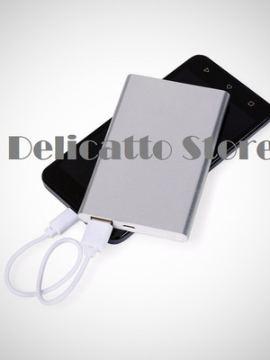 Power Bank Metal com Indicador Led - DS02012