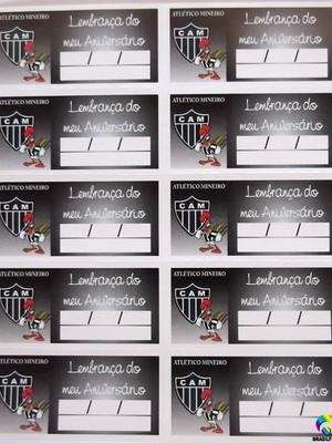 Tag Lembrancinha Atlético Mineiro (30 unid.)