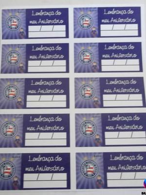 Tag Lembrancinha Bahia (30 unid.)