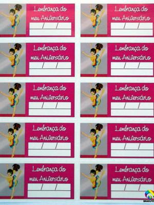 Tag Lembrancinha Bailarina (30 unid.)