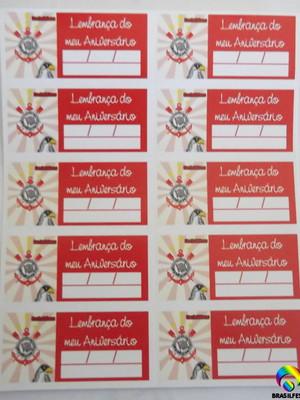Tag Lembrancinha Corinthia (30 unid.)