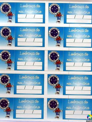 Tag Lembrancinha Cruzeiro (30 unid.)