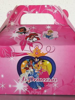 Caixa Box Pequena Princesas (01 unid.)