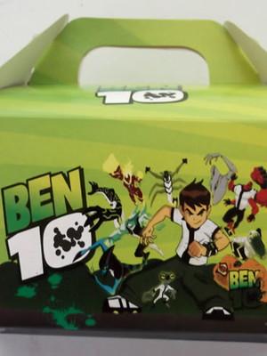 Caixa Box Pequena Ben 10 (01 unid.)