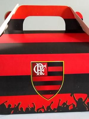 Caixa Box Pequena Flamengo (01 unid.)