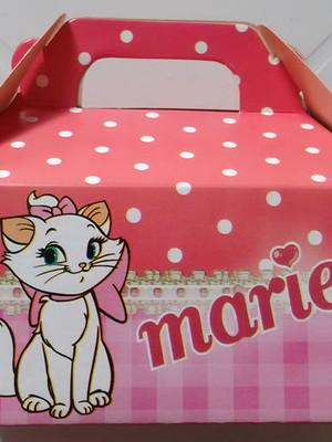 Caixa Box Pequena Gata Marie (01 unid.)