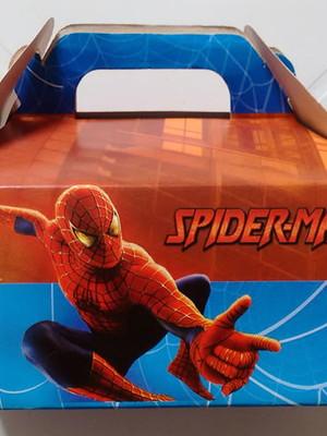 Caixa Box Pequena Homem Aranha (01 unid.)