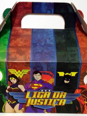Caixa Box Pequena Liga da Justiça (01 unid.)