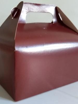 Caixa Box Pequena Lisa Marrom (01 unid.)