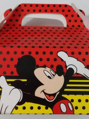 Caixa Box Pequena Mickey Mouse (01 unid.)