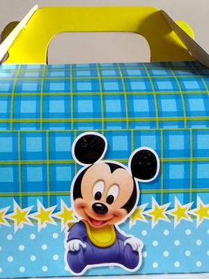 Caixa Box Pequena Mickey Mouse Baby (01 unid.)