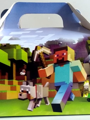 Caixa Box Pequena Minecraft (01 unid.)