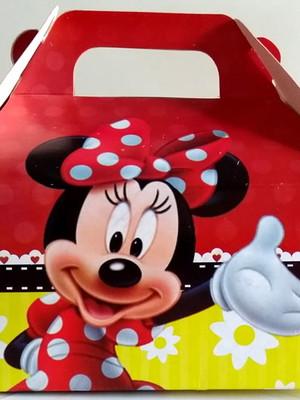 Caixa Box Pequena Minnie (01 unid.)