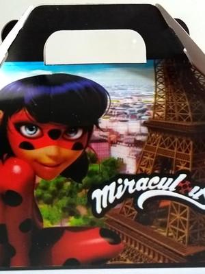 Caixa Box Pequena Miraculous (01 unid.)