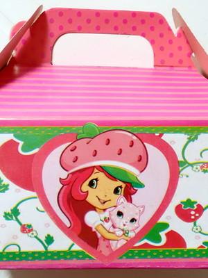 Caixa Box Pequena Moranguinho Teen(01 unid.)