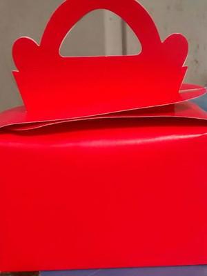 Caixa Maleta Lisa Vermelha (01 unid.)
