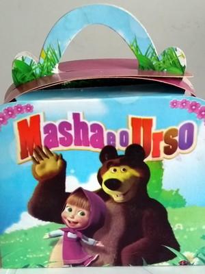 Caixa Maleta Masha Urso (01 unid.)