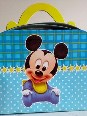 Caixa Maleta Mickey Baby (01 unid.)