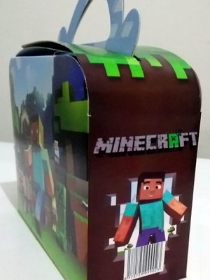 Caixa Maleta Minecraft (01 unid.)