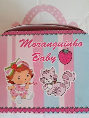 Caixa Maleta Moranguinho Baby (01 unid.)