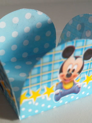 Forminha Mickey Baby (50 forminhas)