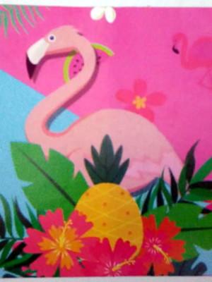 Tampa Marmitinha Flamingo (10 unid.)
