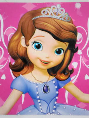 Tampa Marmitinha Princesinha Sofia (10 unid.)