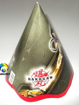 Chapéu Aniversario Bakugan (08 unid.)