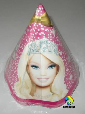 Chapéu Aniversario Barbie Life (08 unid.)