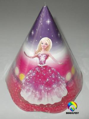 Chapéu Aniversario Barbie Moda Magia (08 unid.)