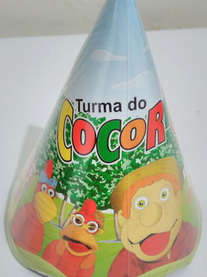 Chapéu Aniversario Cocorico (08 unid.)