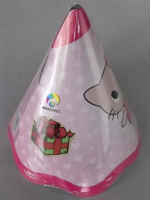 Chapéu Aniversario Hello Kitty Baby (08 unid.)