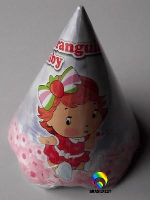 Chapéu Aniversario Moranguinho Baby (08 unid.)