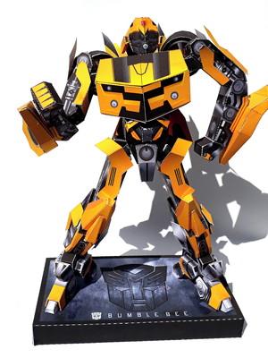 Arquivo de corte Transformers Bumblebee 3d