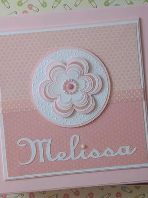 Livro do Bebê com caixa Florzinha Cute