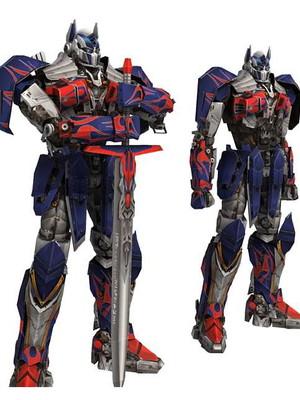 Arquivo de corte Transformers 3D Optimus Prime
