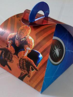 Caixa Trufa Homem Aranha (01 unid.)