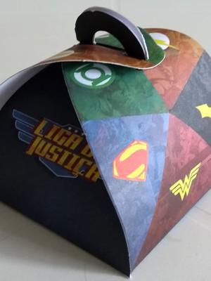 Caixa Trufa Liga da Justiça (01 unid.)